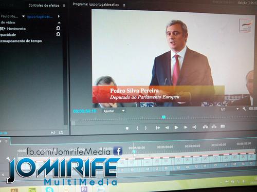 Gravação e Produção de vídeo com Pedro Silva Pereira, Deputado ao Parlamento Europeu, Membro da Comissão do Comércio Internacional, Vice-Presidente da Comissão dos Assuntos Constitucionais