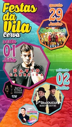 Vila de Cerva - Festas de São Pedro 2016