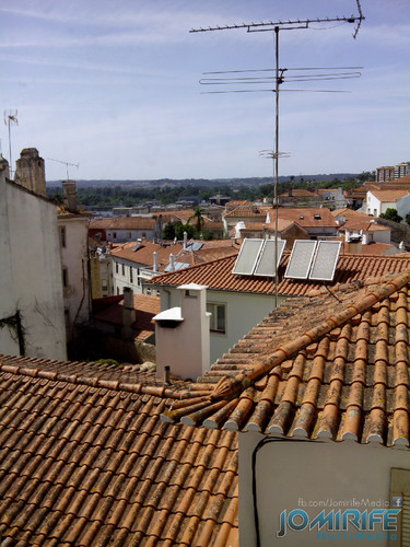 Casas da zona da Sé Velha de Coimbra em Portugal [en] Houses in the area of the Old Cathedral of Coimbra in Portugal