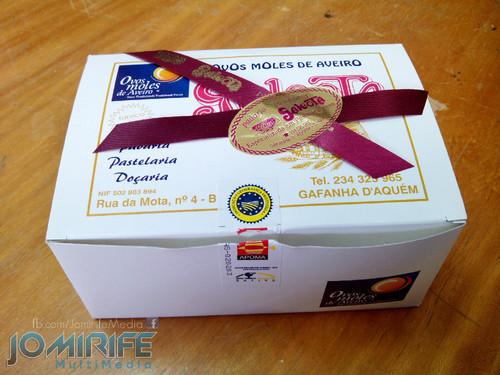 Caixa de ovos moles de Aveiro