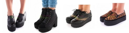 Escapeshoes sapatos sixtyseven outono-inverno 2014