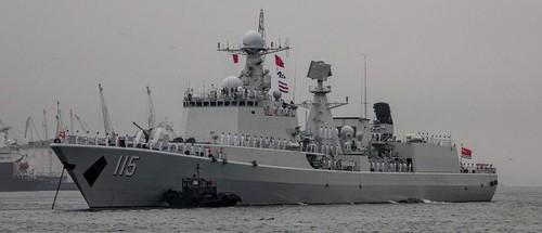 Rússia e China manobras navais no Mediterrâneo M