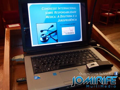 Audiovisual do Congresso Internacional sobre Responsabilidade Médica