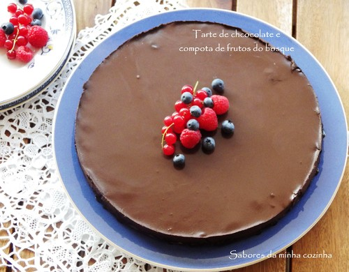 IMGP4004-Tarte de chocolate e compota de frutos do