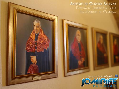 Pintura a óleo de António de Oliveira Salazar