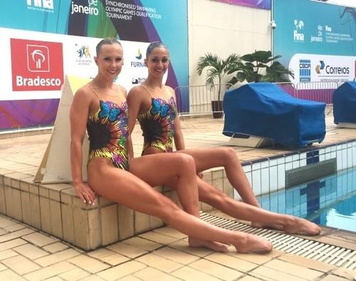 Mariya Koroleva com o par para o Rio