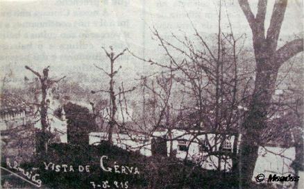 Cerva - Há cem anos