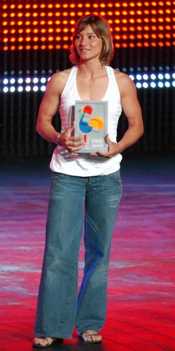 Prémio de atleta do ano do CNID em 2007