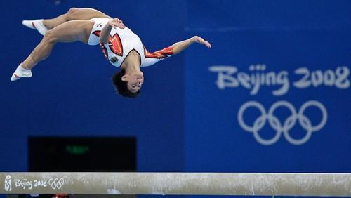 Chusovitina nos Jogos de Pequim/AP