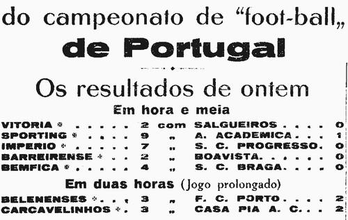 resultados oitavos  de finalcampeonato portugal 19