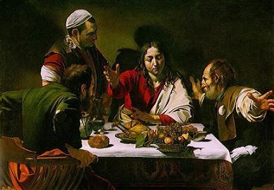A Ceia de Emaus de Caravaggio.JPG