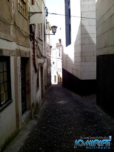 Rua estreita em Coimbra - Rua Borges Carneiro