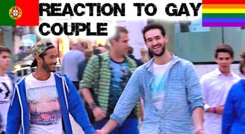 Lorenzo e Pedro vídeo Lisboa homofobia