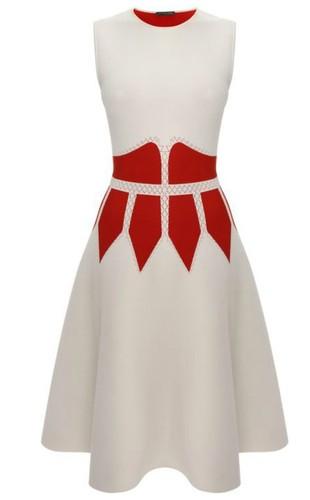 Alexander McQueen Contrast Corset Circle Dress.jpg