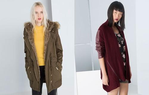 Bershka Sobretudos e Blusoes Outono-Inverno 2014 2