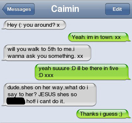 Awkward! 15 Embarrassing Text Messages Sent To The Wrong People