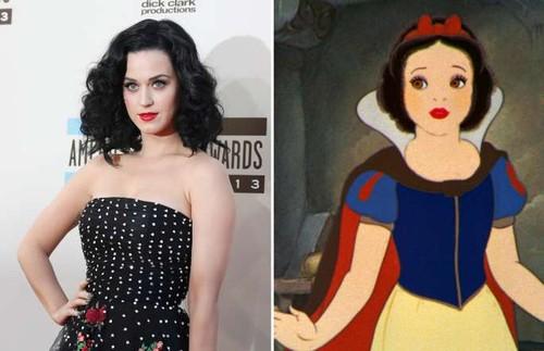 Katy Perry - Branca de Neve (A Branca de Neve e Os