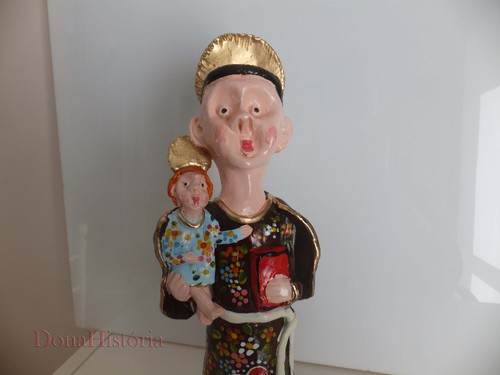 Artesanato Sergipano ~ O Santo António de Barcelos O CARTEIRO DA SAUDADE