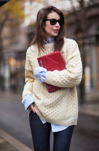 2014 winter outfits with oversized sweater-f45982.