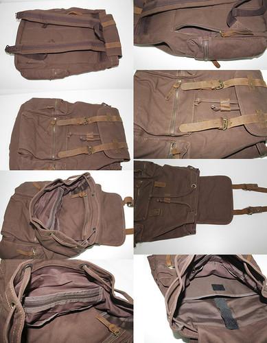 mochilas vintage de senhora