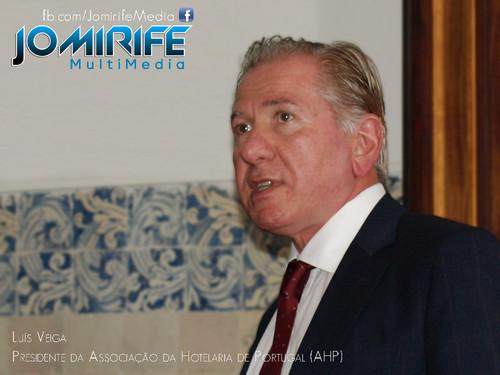Luís Veiga, Presidente da AHP – Associação da Hotelaria de Portugal [en] President of the AHP
