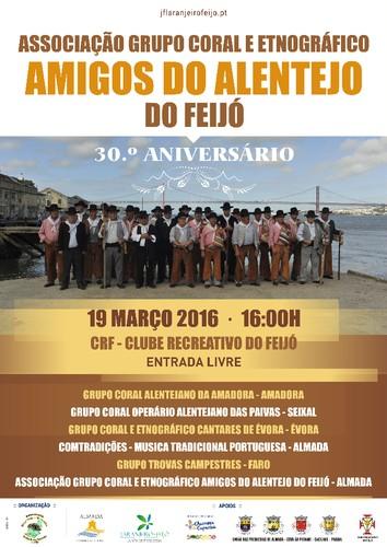 G. C. Amigos do Alentejo do Feijó 30º Aniversário 19 Março