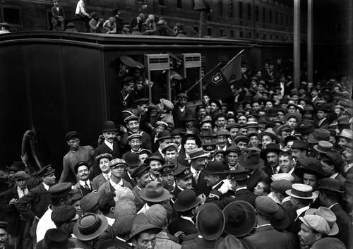 Partida Marinheiros, 1910/1911, Joshua Benoliel