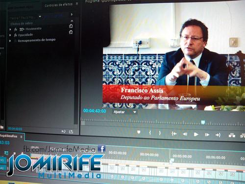 Gravação e Produção de vídeo com Francisco Assis - Deputado ao Parlamento Europeu, Presidente da Delegação para as Relações com o MERCOSUL, Membro da Comissão dos Assuntos Externos