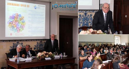 José Carlos Vieira de Andrade na Conferência das Jornadas SPES