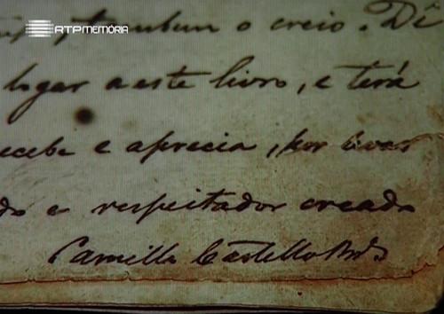 Manuscrito do «Amor de Perdição» (R.T.P., 2000)