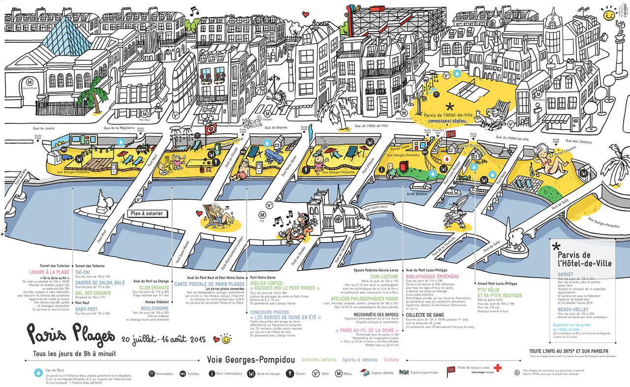 mapa praia paris voie georges-pompidou.png