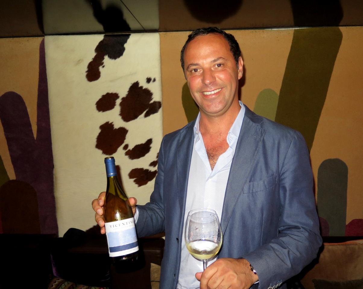 Bernardo Cabral e um Sauvignon Blanc assumidamente vegetal