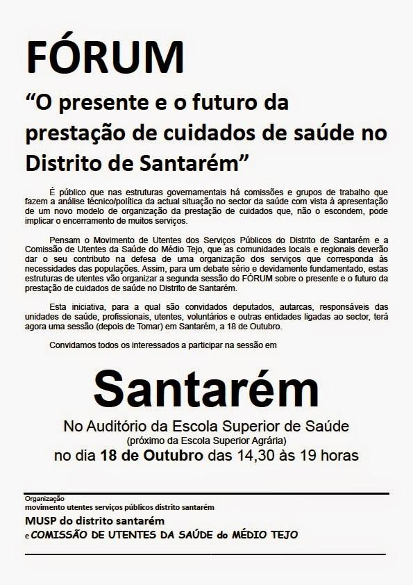 Fórum Santarém 2014-10-18