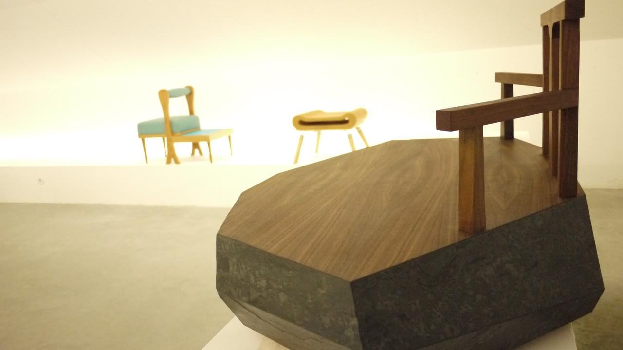 Protótipos da Residencia criativa Art on Chairs c