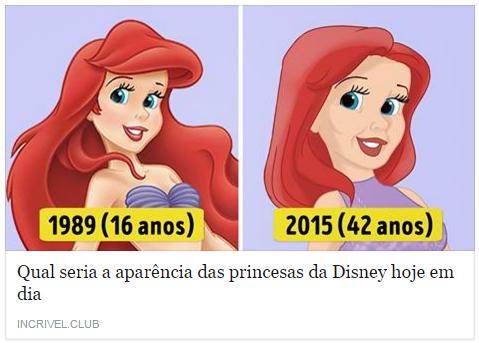 Incrível - Preincesas Disney
