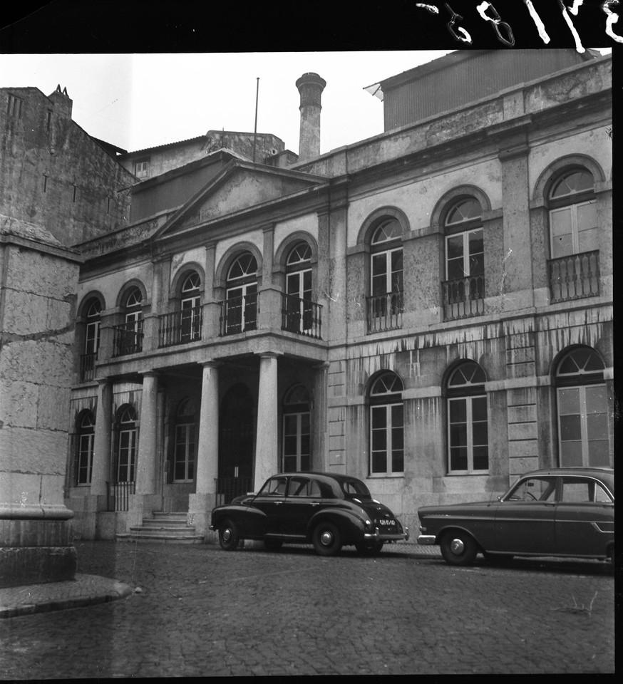 Termas de São Paulo, 1951,foto de Augusto Fernand