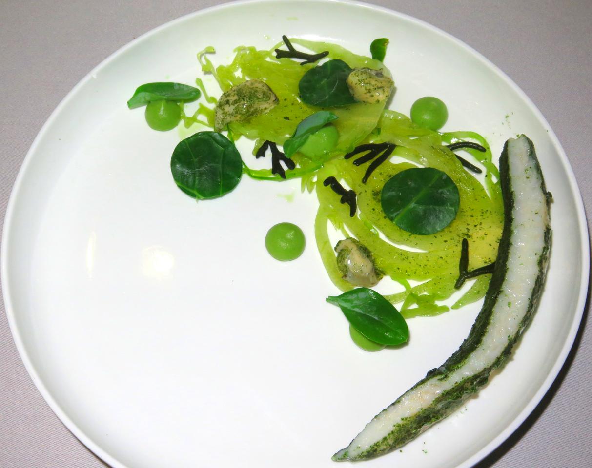 Muito sabor… e muito verde