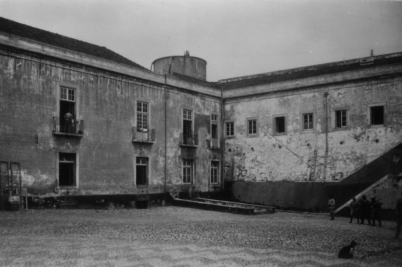Castelo de São Jorge, a antiga parada do quartel