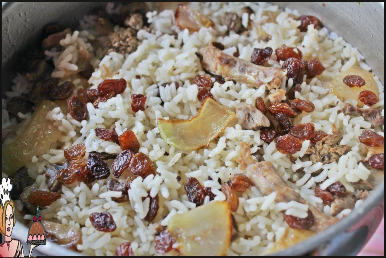 Receita de arroz de miúdos de frango