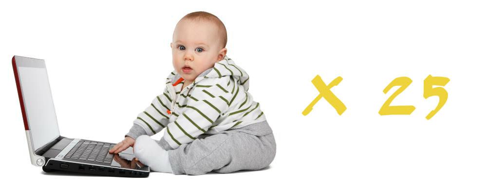 25 Bebés - Maria das Palavras (imagem Pixabay)