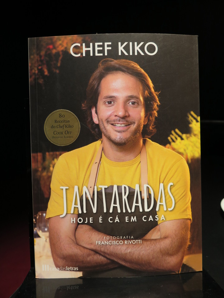 Jantaradas, o novo livro do Chef Kiko