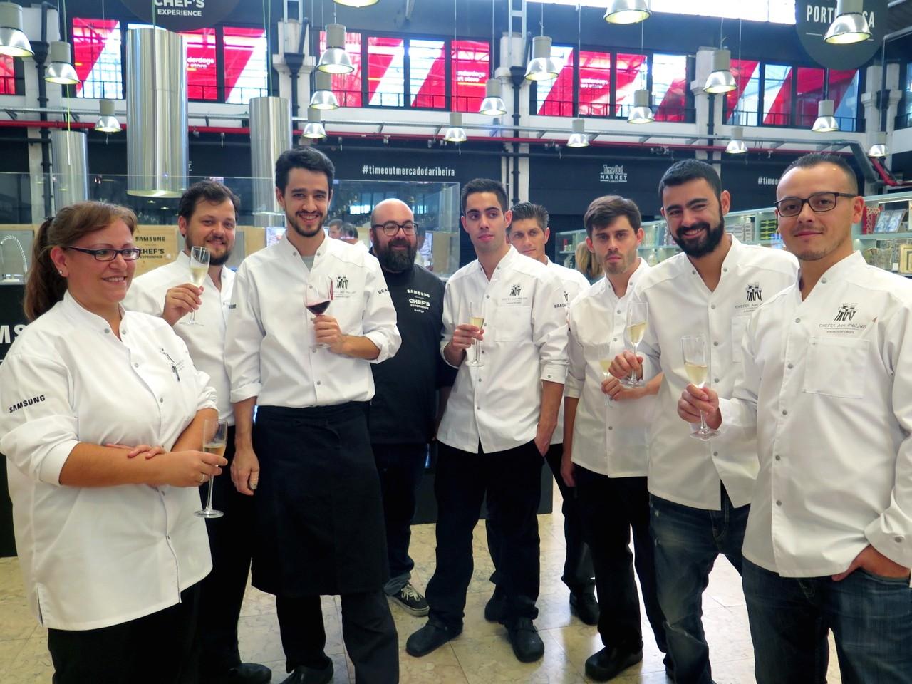 Os chefs dos hotéis Altis