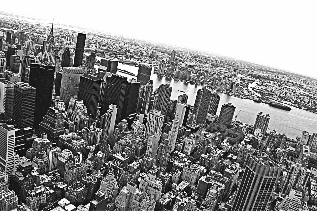 Vista sobre Manhattan, através do observation deck do Empire State Building @Eliana Miranda