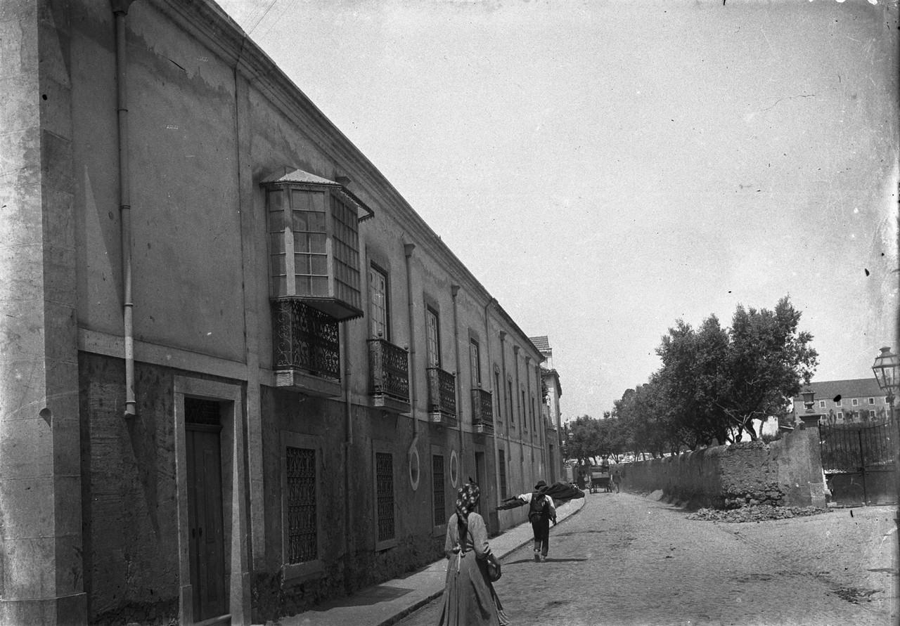 Azinhaga em Benfica (J. Benoliel, C.1910)