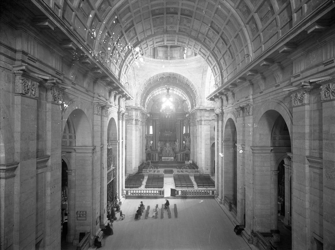 Igreja de São Vicente de Fora, interior, fotógra