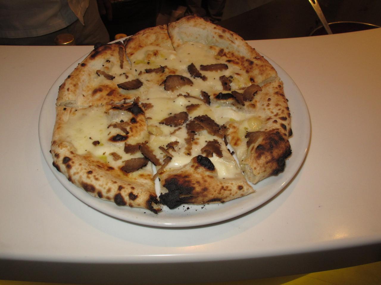 Pizza de Trufa Negra