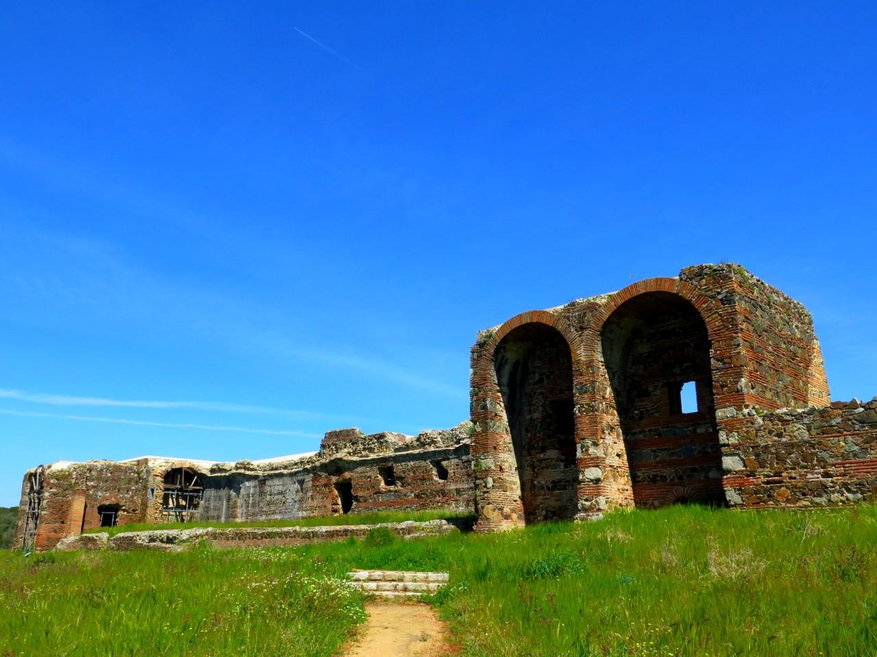 As ruínas da villa romana de São Cucufate
