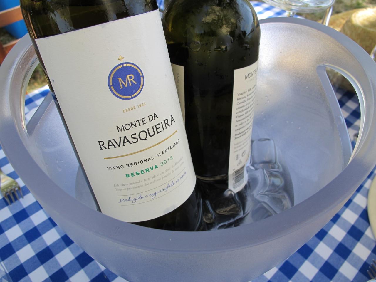 Os vinhos do Monte da Ravasqueira