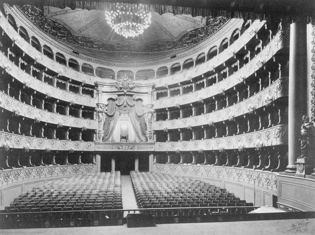 Teatro Nacional de São Carlos, sala de espectácu