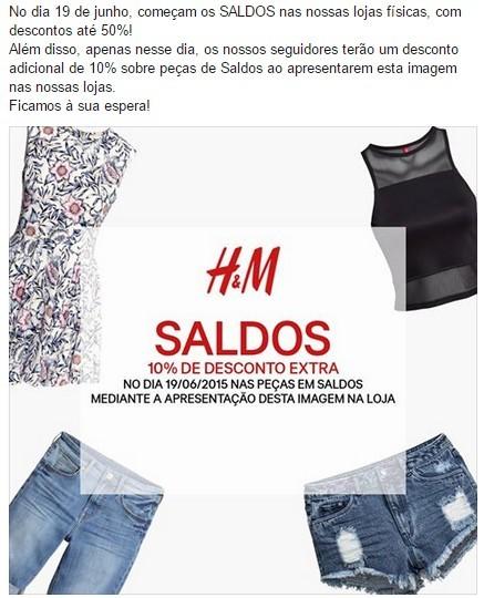 Saldo H&M